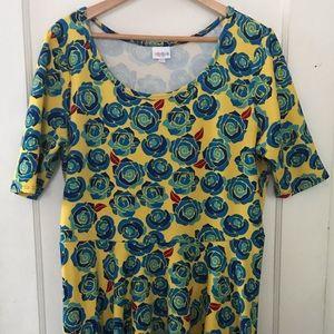 LuLaRoe Plus Size Nicole Dress Bundle